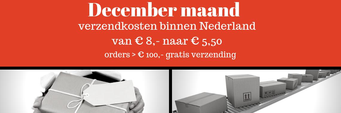 december-verzendkosten