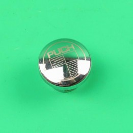 Fuel cap + logo Stainless steel Puch Maxi