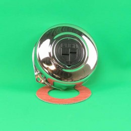 1. Flywheel cover chrome with logo Puch Maxi