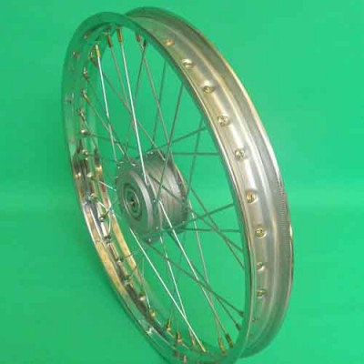 Voorwiel spaak 17inch Puch Maxi