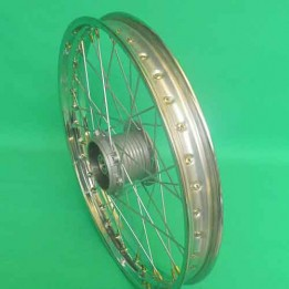 1 Achterwiel spaak 17inch Puch Maxi