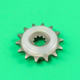 Front Sprocket + rubber 14 T Puch Maxi