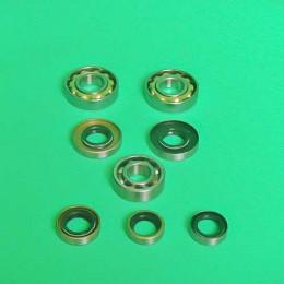 Bearing + sealset 2-hand gear Tomos