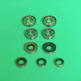 Bearing + sealset 3-hand gear Tomos